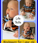 Toddler Practical Life Skills