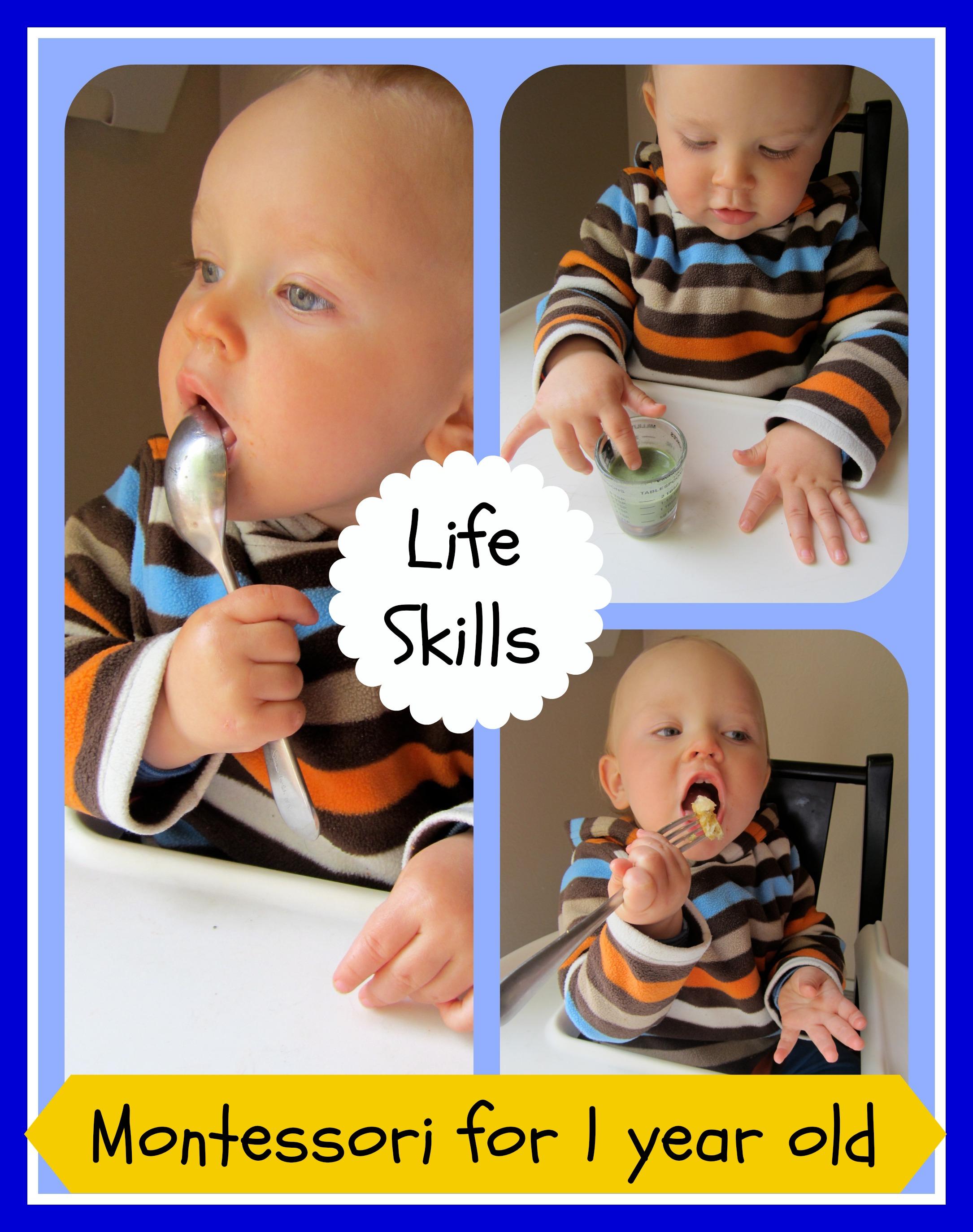 Toddler Practical Life Skills