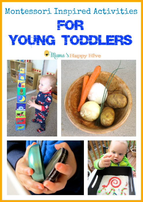7 Montessori Inspired Activities for Toddlers – Week 4