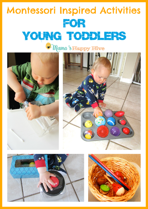 7 Montessori Inspired Activities for Toddlers – Week 2