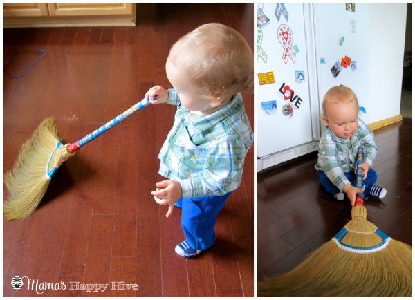 Sweeping - www.mamashappyhive.com