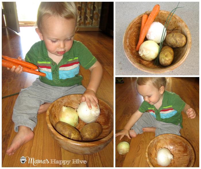 Veggie Treasure Bowl - www.mamashappyhive.com