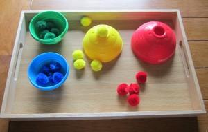 Our Toddler Montessori Shelves