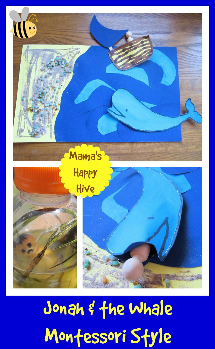 Jonah & the Whale:  Montessori Style