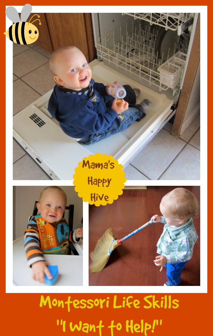 Our Montessori Routine at 16 Months of Age
