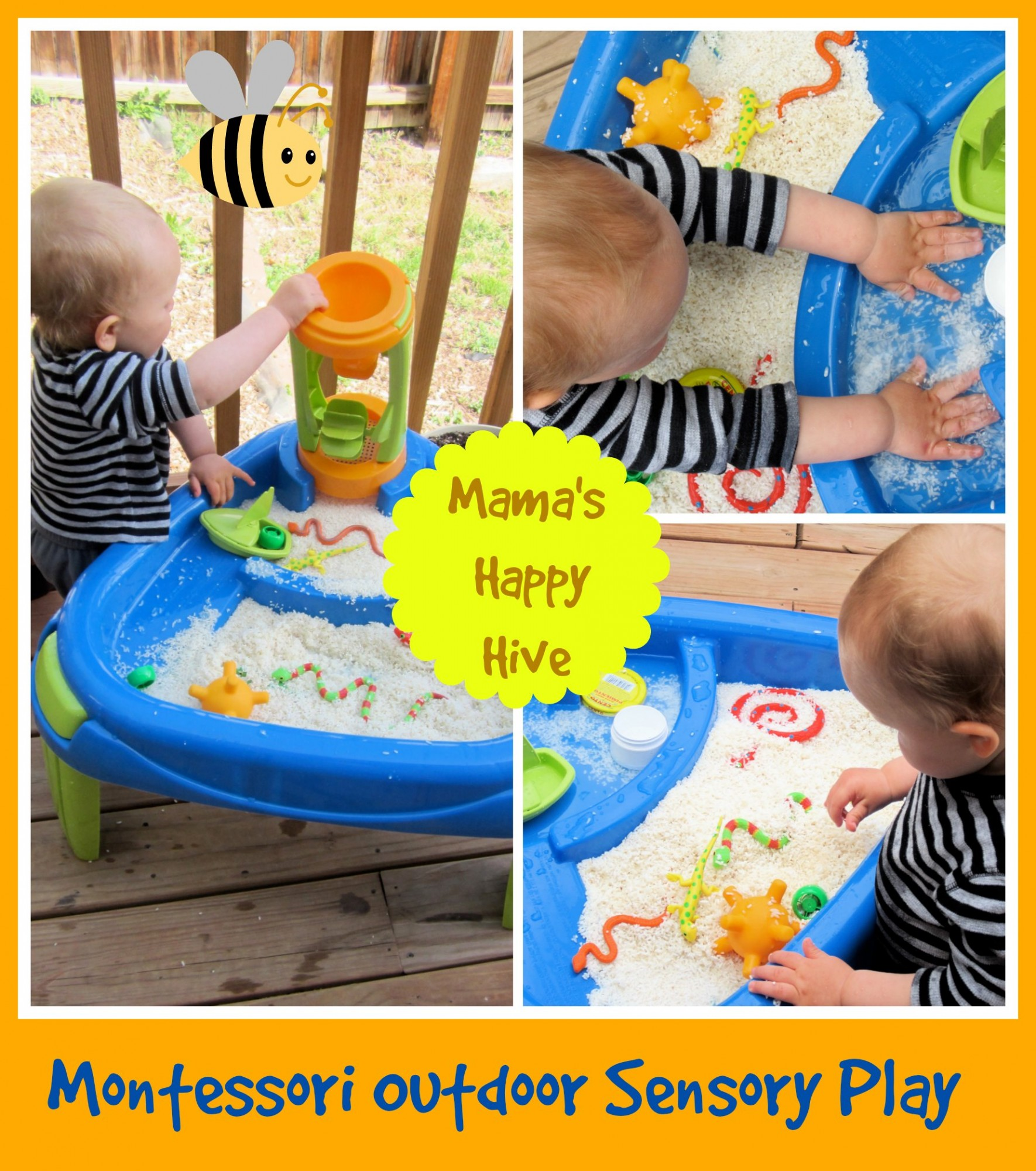 Our daily Montessori routine at 16 months of age. www.mamashappyhive.com