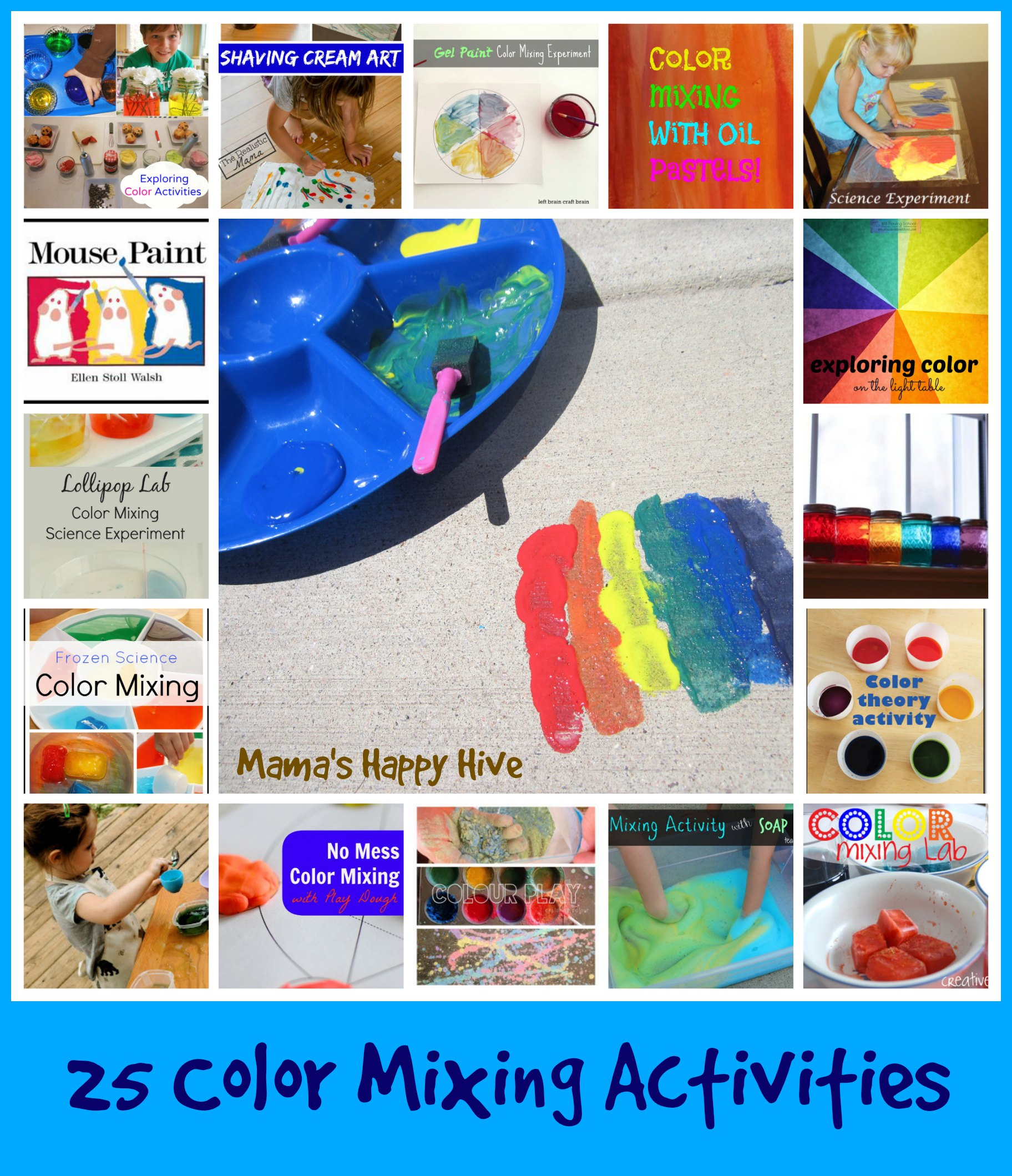 25 fabulous color mixing activities mama 39 s happy hive. Black Bedroom Furniture Sets. Home Design Ideas