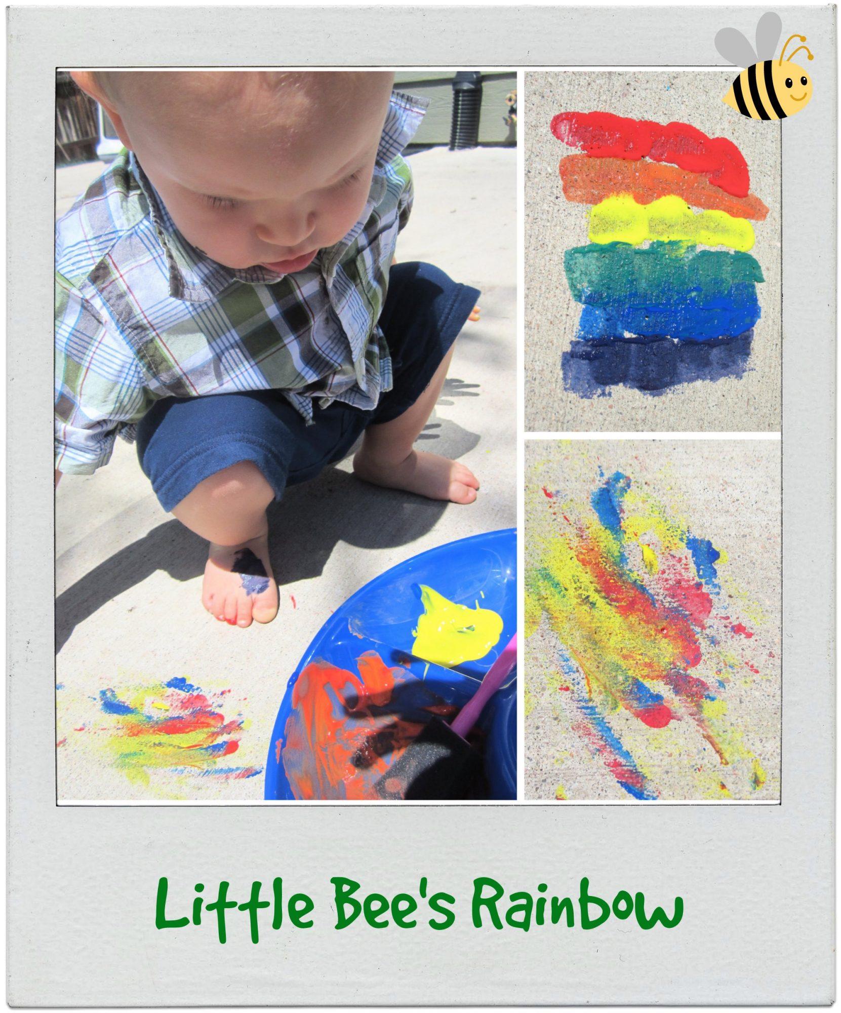 Little Bee's Rainbow