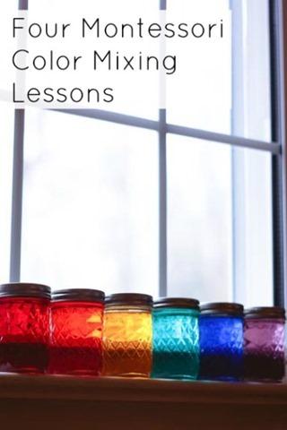 http://www.montessoriworksblog.com/2014/02/27/four-montessori-color-mixing-lessons/