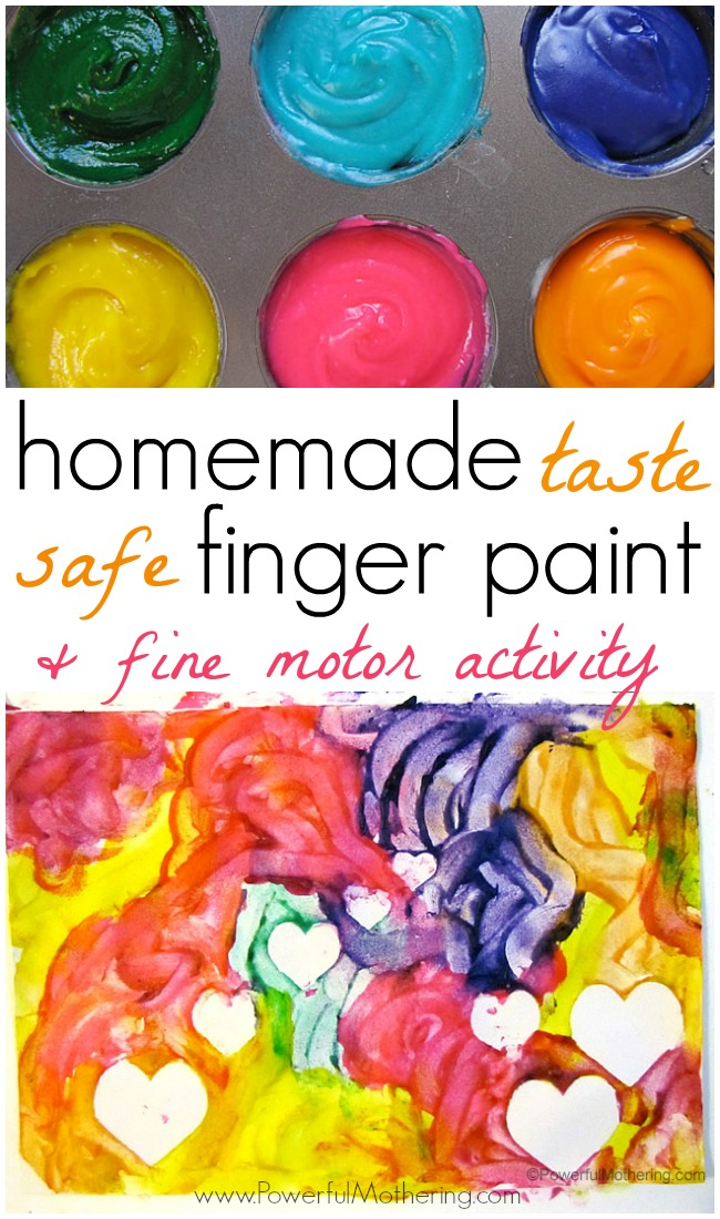 homemade-finger-paint-and-fine-motor-activity