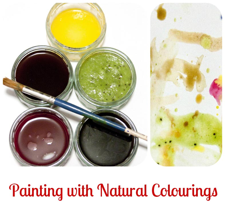 natural colourings painting