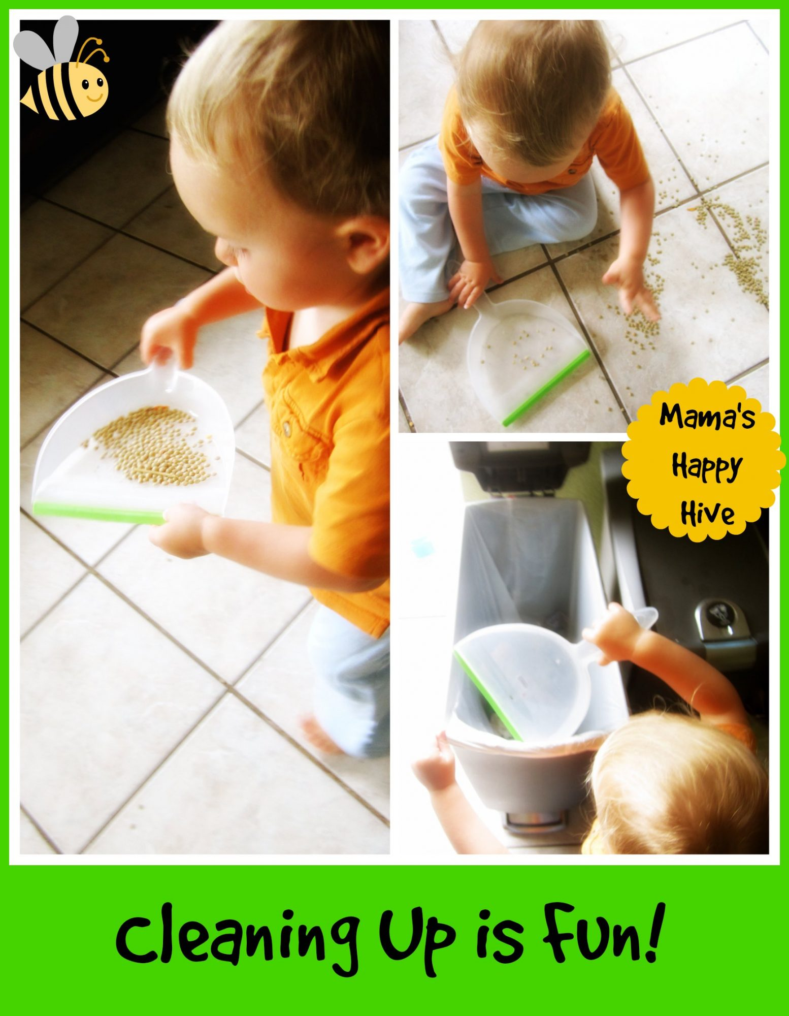 Toddler in the Kitchen - www.mamashappyhive.com