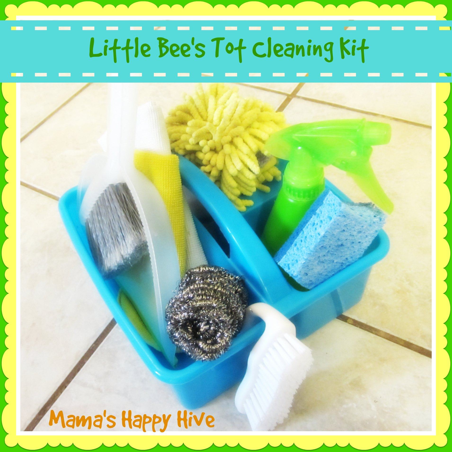 Little Bee's Tot Cleaning Kit - www.mamashappyhive.com
