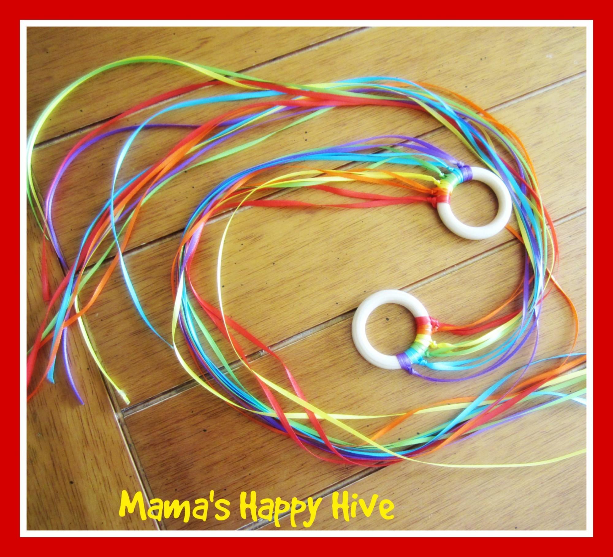 Rainbow Flyers - www.mamashappyhive.com