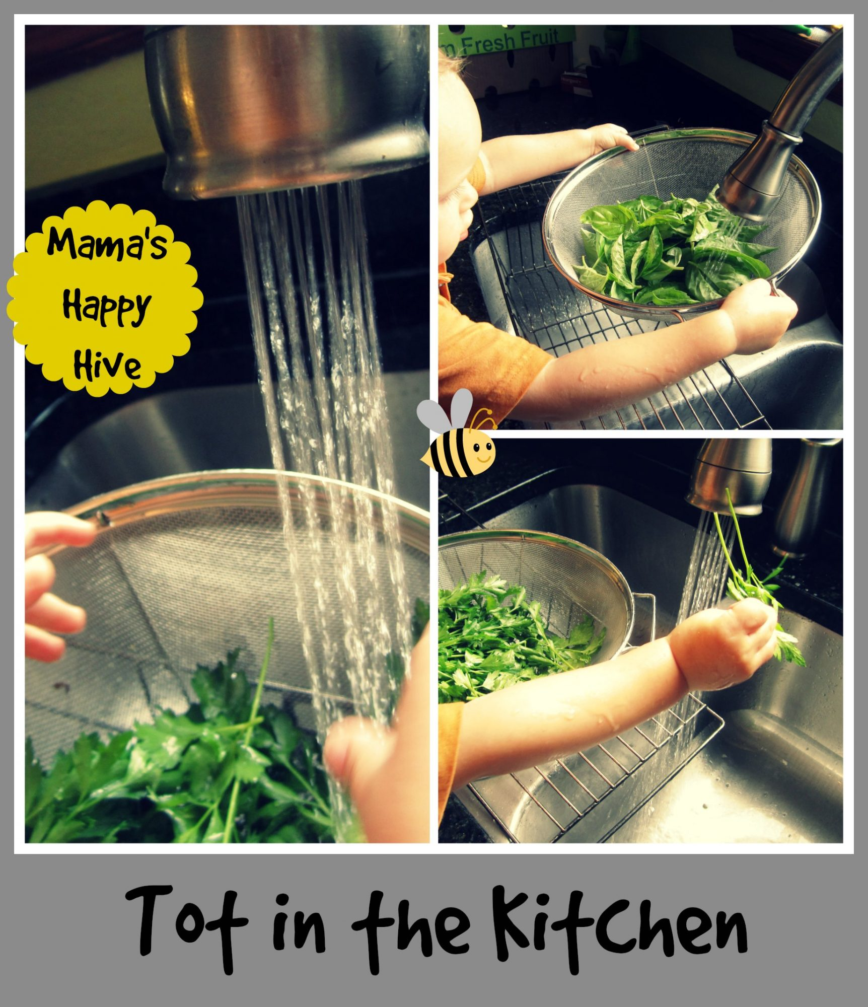 Tot in the Kitchen - www.mamashappyhive.com