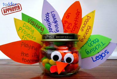 turkey treat jar