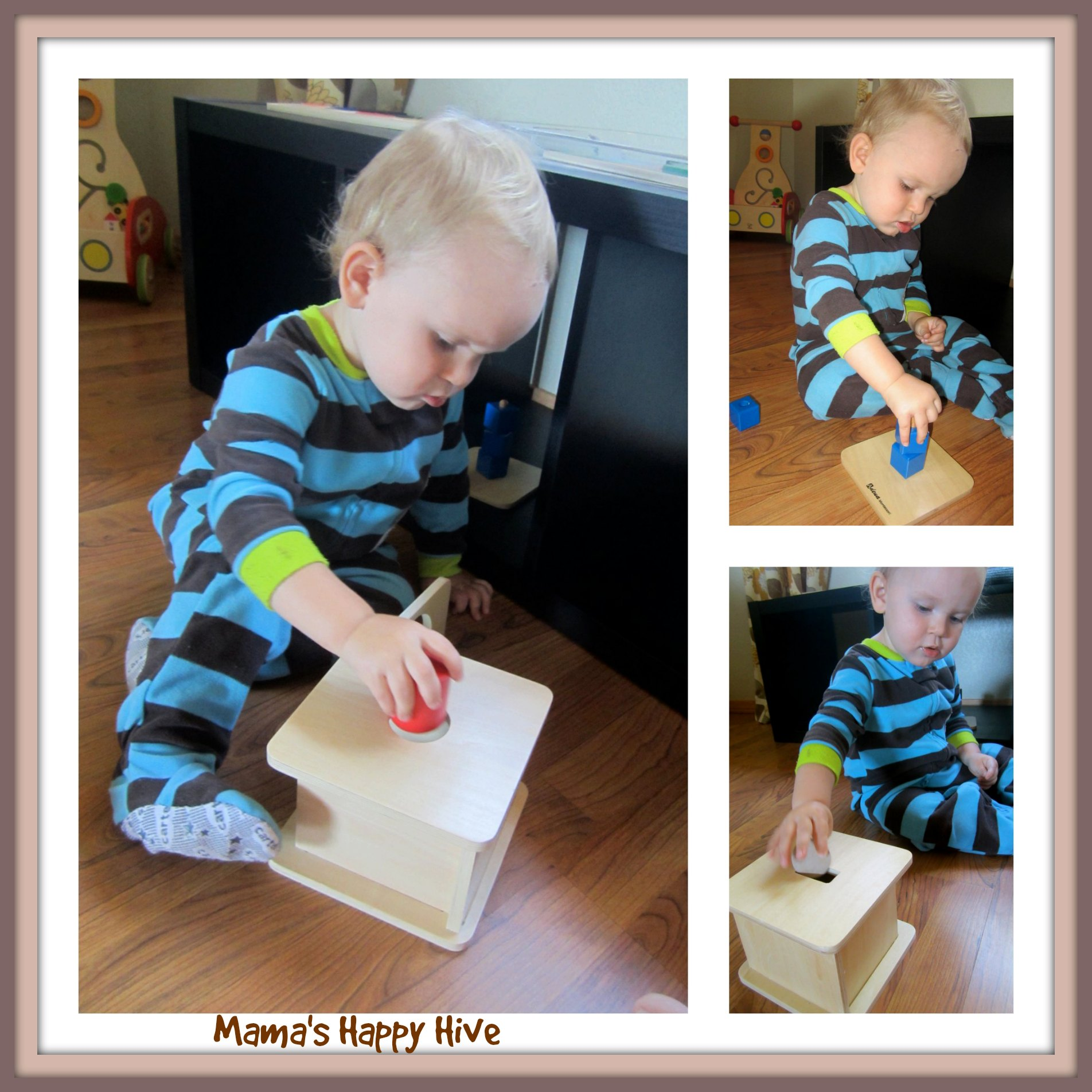 Toddler Montessori Shape Lessons