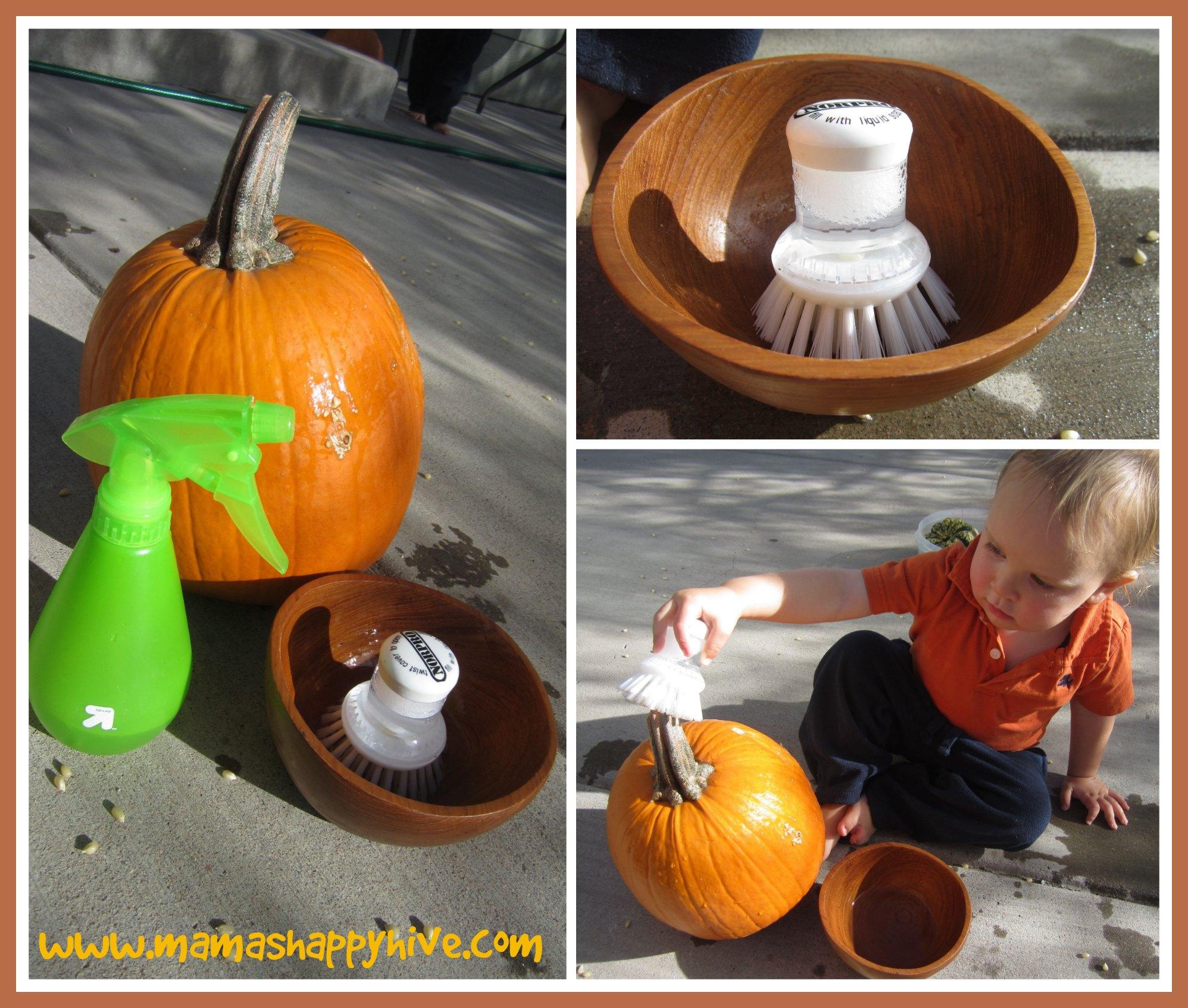 Pumpkin Wash