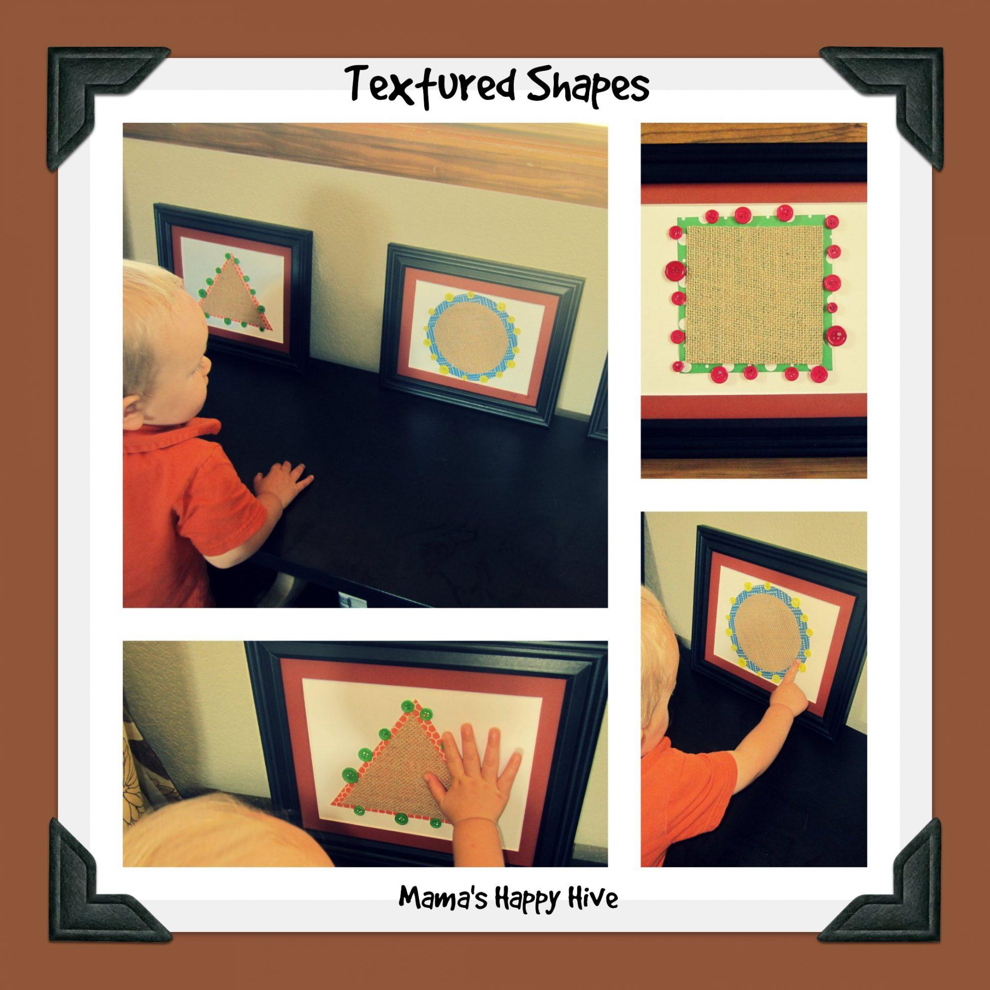 Toddler Montessori Shape Lessons - www.mamashappyhive.com