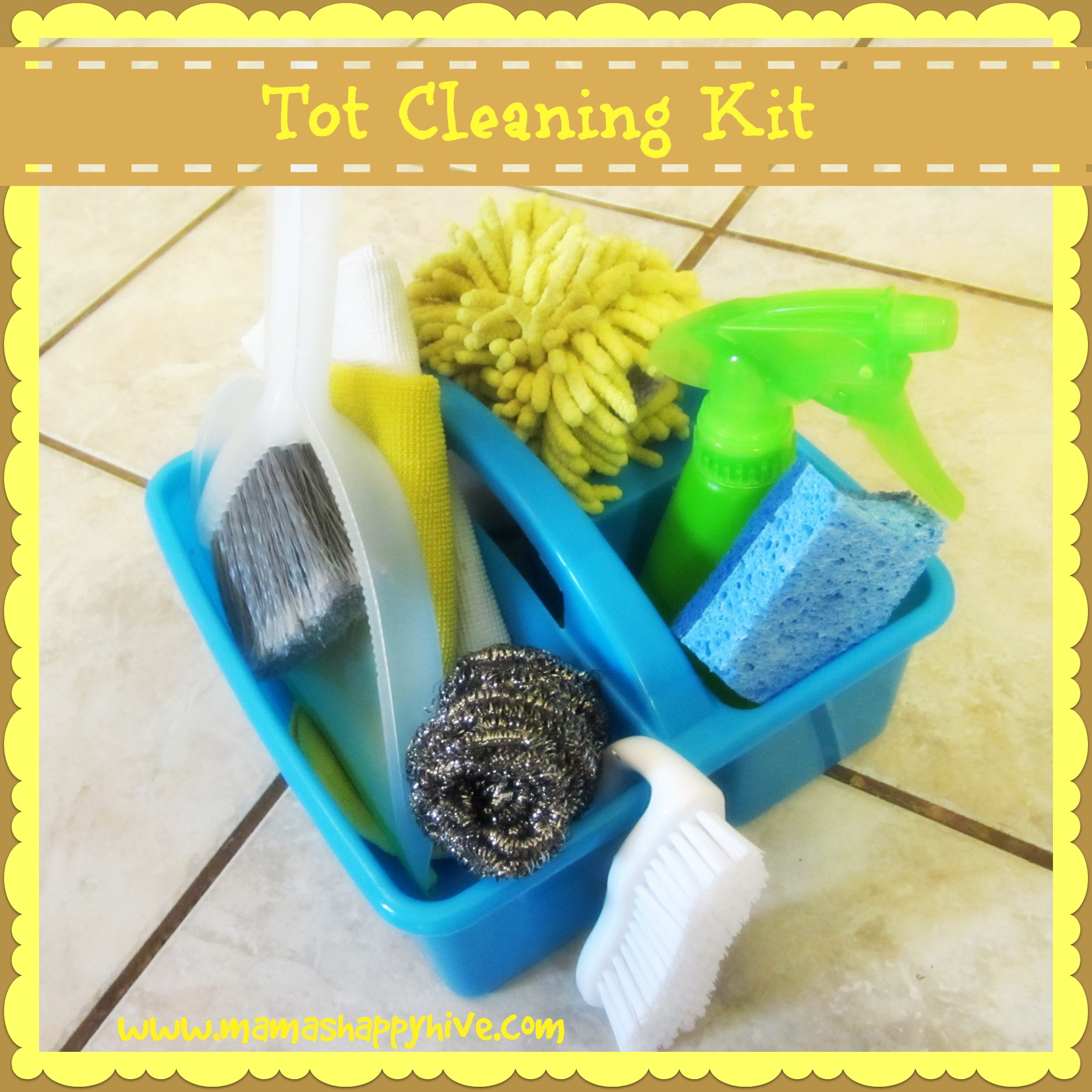 Tot Cleaning Kit - www.mamashappyhive.com