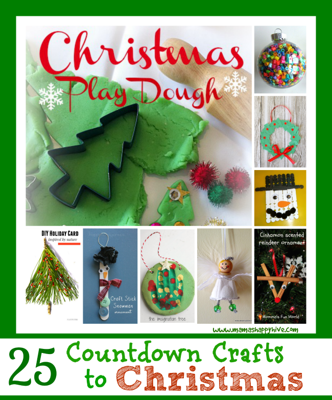 25 Countdown Crafts to Christmas