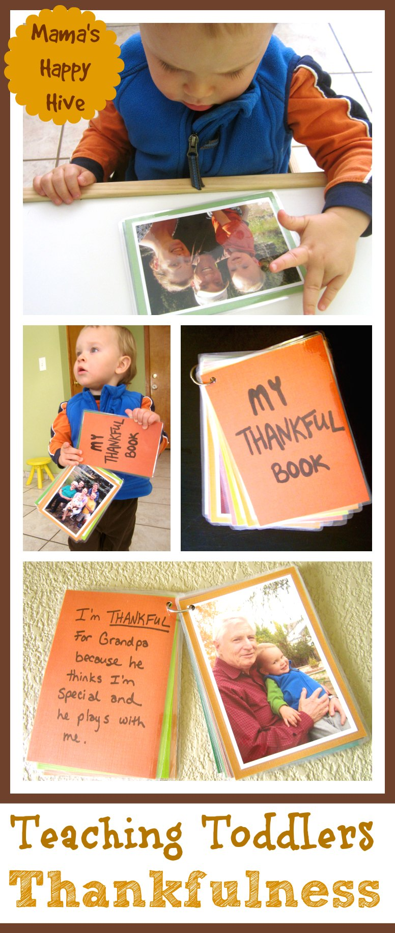 Teaching Toddlers Thankfulness - www.mamashappyhive.com