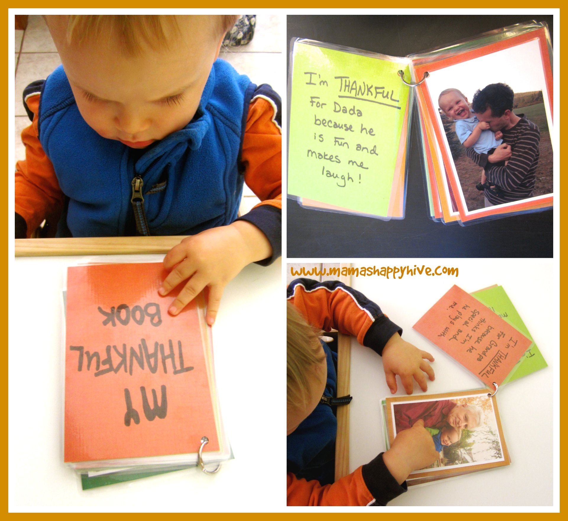 Teaching Toddlers Thankfulness