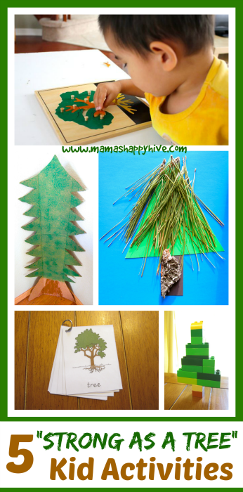 5 Strong as a Tree Kid Activities