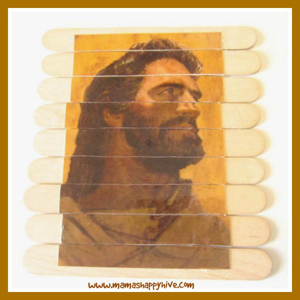 Jesus Puzzle - www.mamashappyhive.com