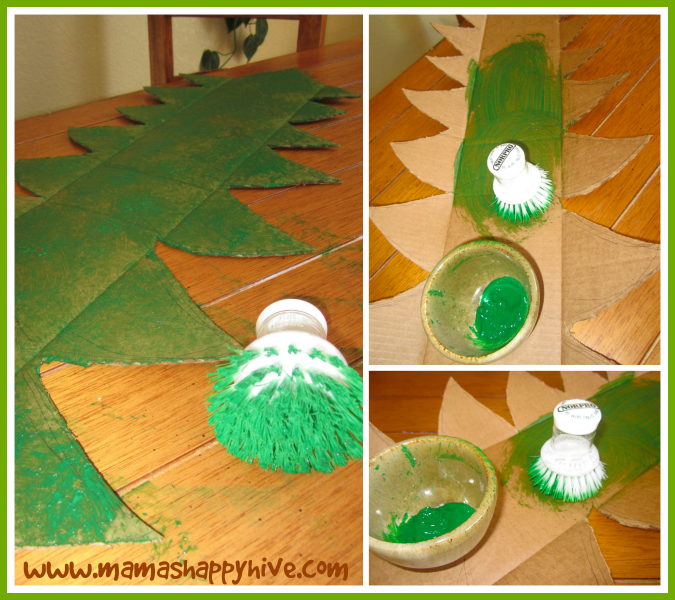 Paint the Redwood Tree