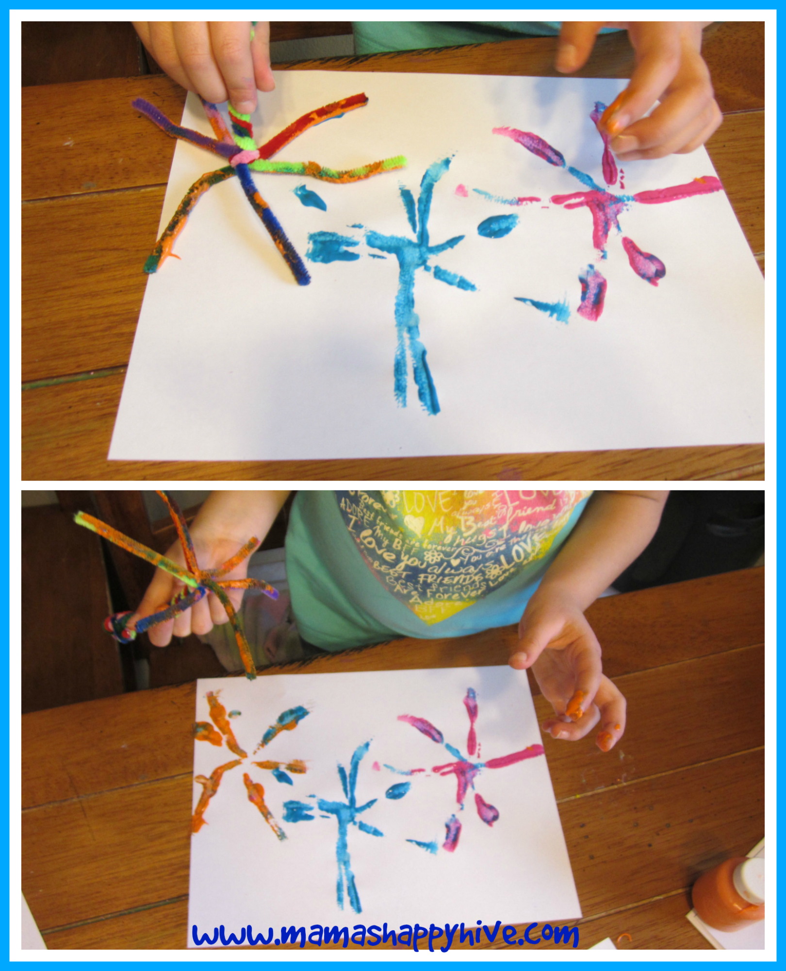 Pipe Cleaner Fireworks 1