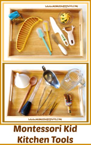 Montessori Kid Kitchen Tools