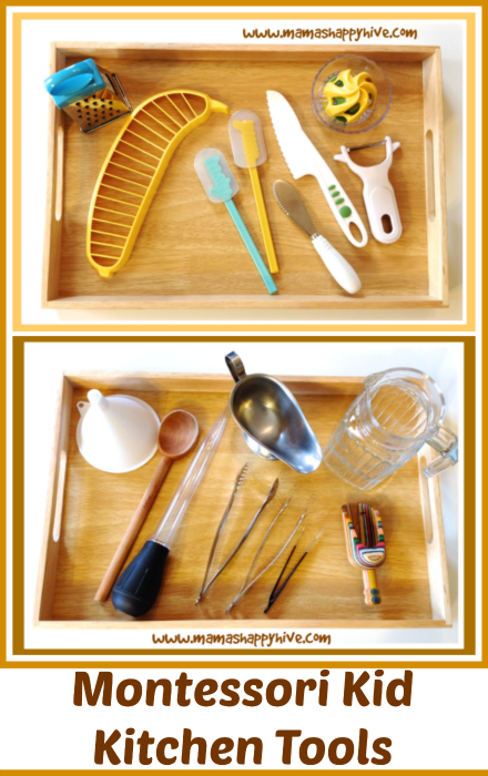 Montessori Kitchen Tools