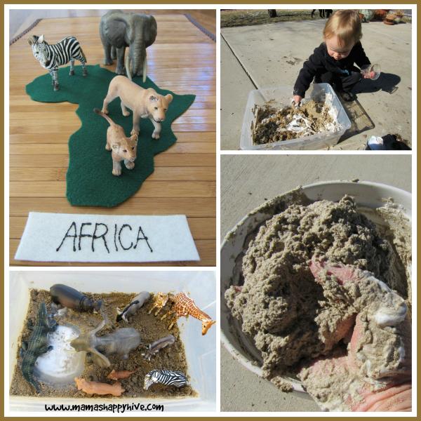 African Sensory Sand - www.mamashappyhive.com
