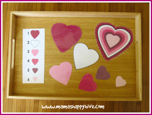 Heart Size Match Up - www.mamashappyhive.com
