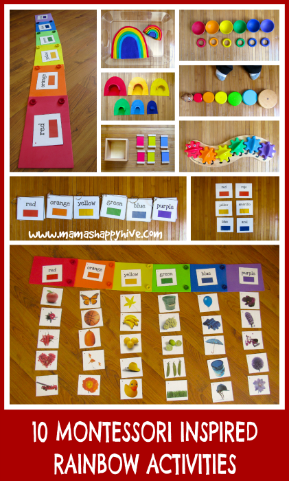 Montessori Inspired Toddler Rainbow Unit Mama S Happy Hive