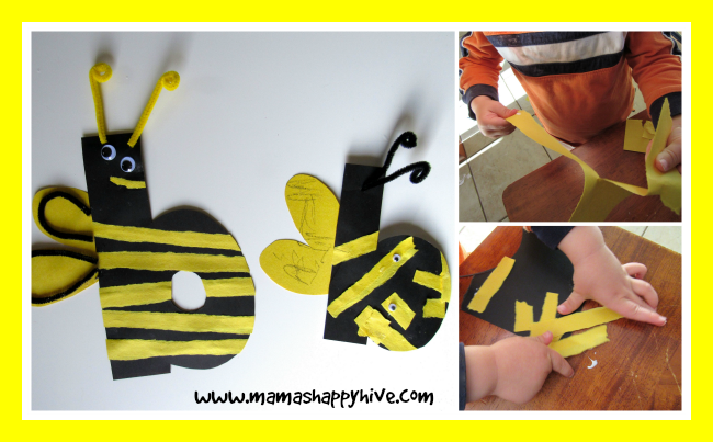 Bee Craft - www.mamashappyhive.com