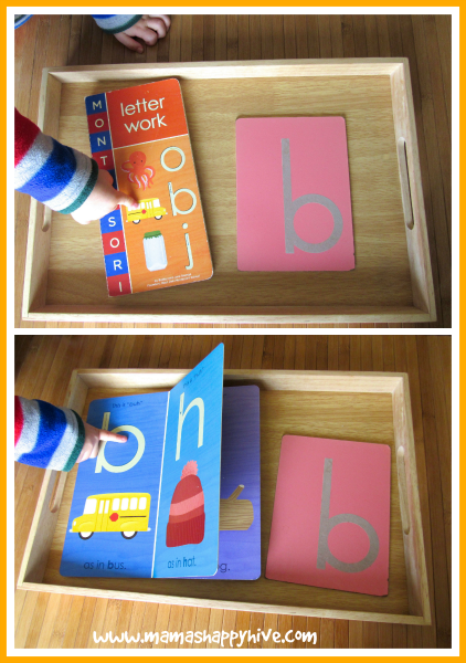 Montessori Inspired Letter B Introduction