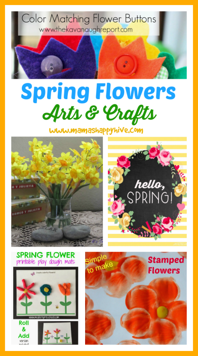 Spring Flowers & Little Bird Link Party (#1)