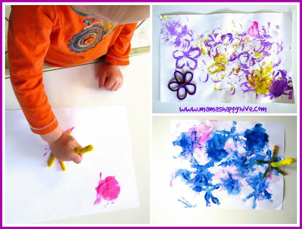 Flower Stamping Art