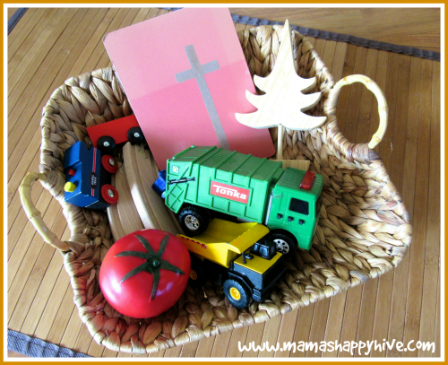 Letter T basket - www.mamashappyhive.com