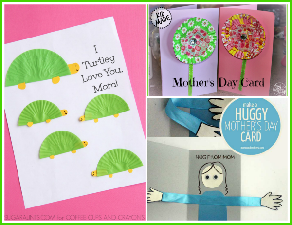 Easy Mother S Day Card Kids Can Make Fantastic Fun Learning