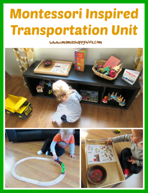 Montessori Inspired Transportation Unit - www.mamashappyhive.com