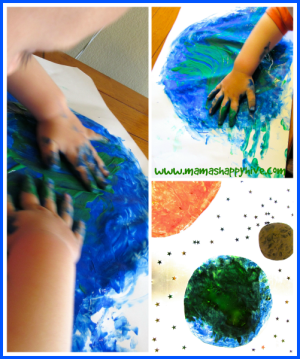 Painting the Earth - www.mamashappyhive.com