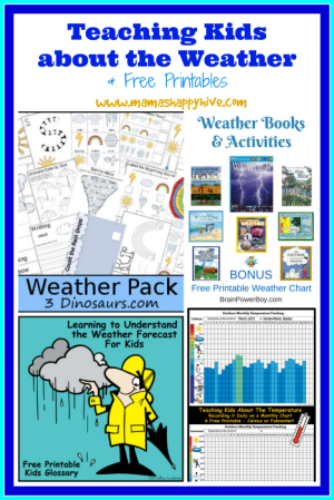 Teaching Kids about the Weather - www.mamashappyhive.com