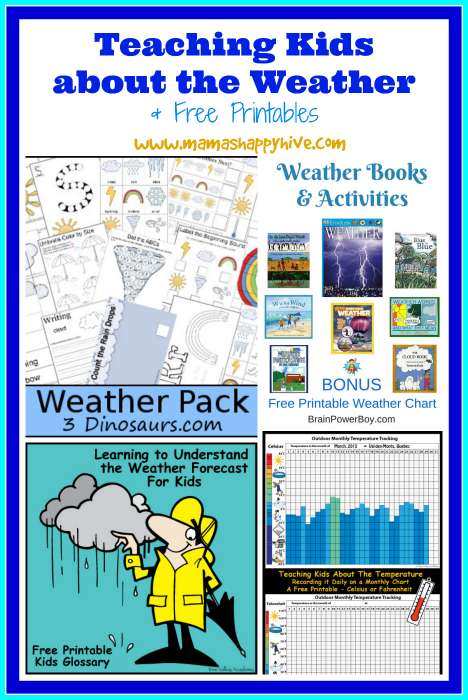 Teaching Kids about the Weather & Link Party (#4)