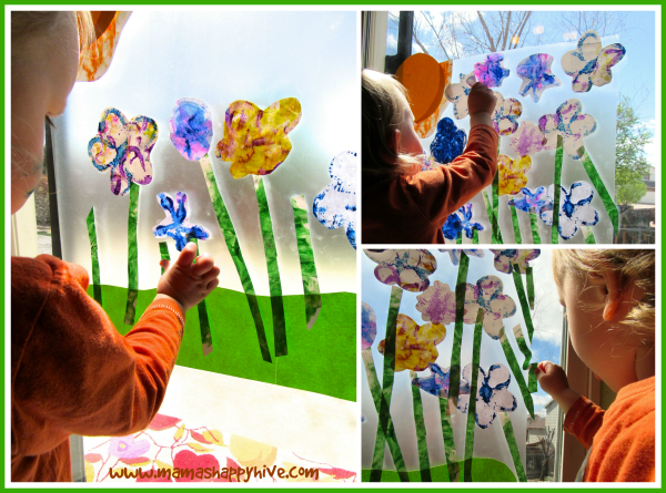 Flower Art for Toddlers