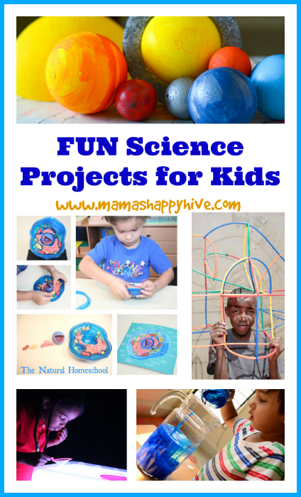 Fun Science Projects for Kids & {Link Party #8}