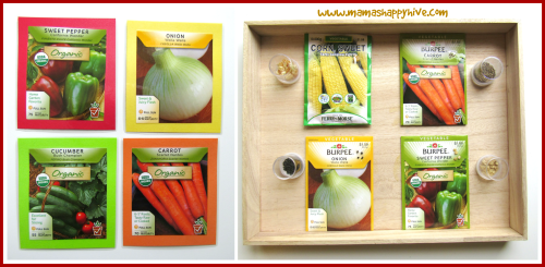 Matching Seed Packs - www.mamashappyhive.com