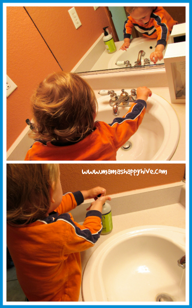 Washing Hands - www.mamashappyhive.com